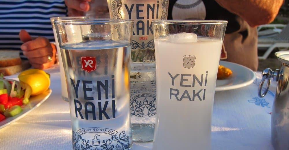 Raki – strange alcohol