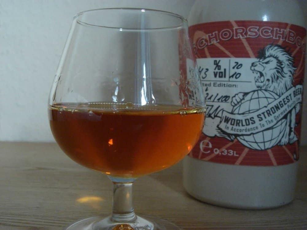 Schorschbrau's Schorschbock 43 – strongest beer