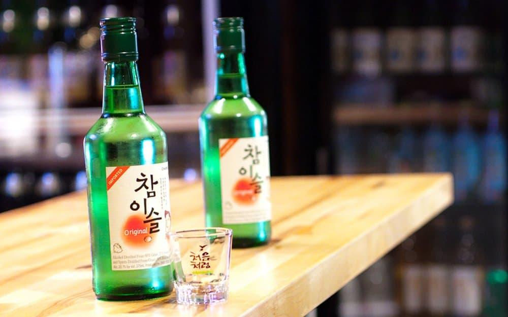 Soju – strange alcohol