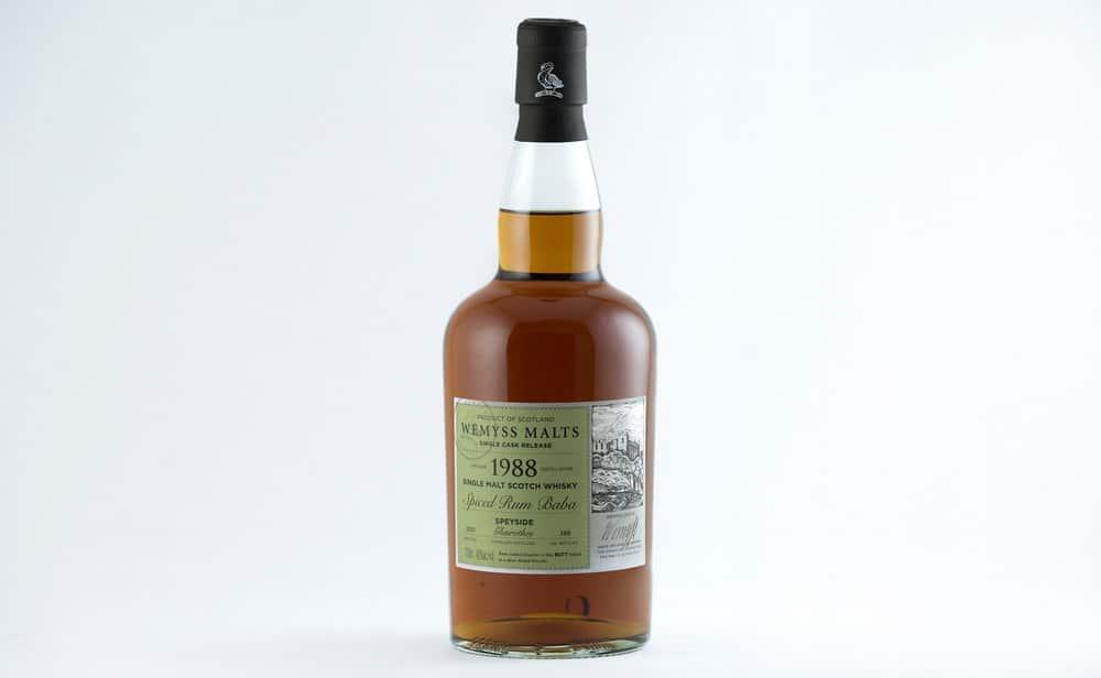 Spiced Rum Baba 1988 – scotch under 250
