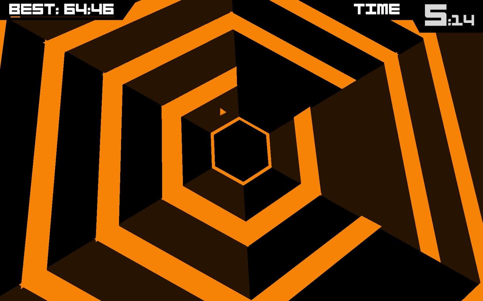 Super Hexagon – popular video game