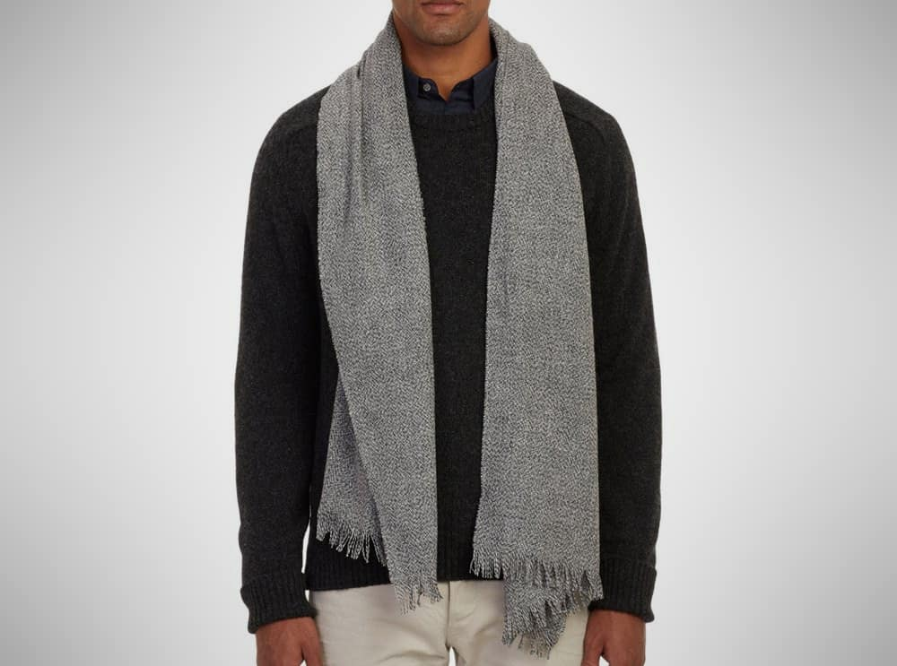 Theory Cashmere Scarf – mens accessories