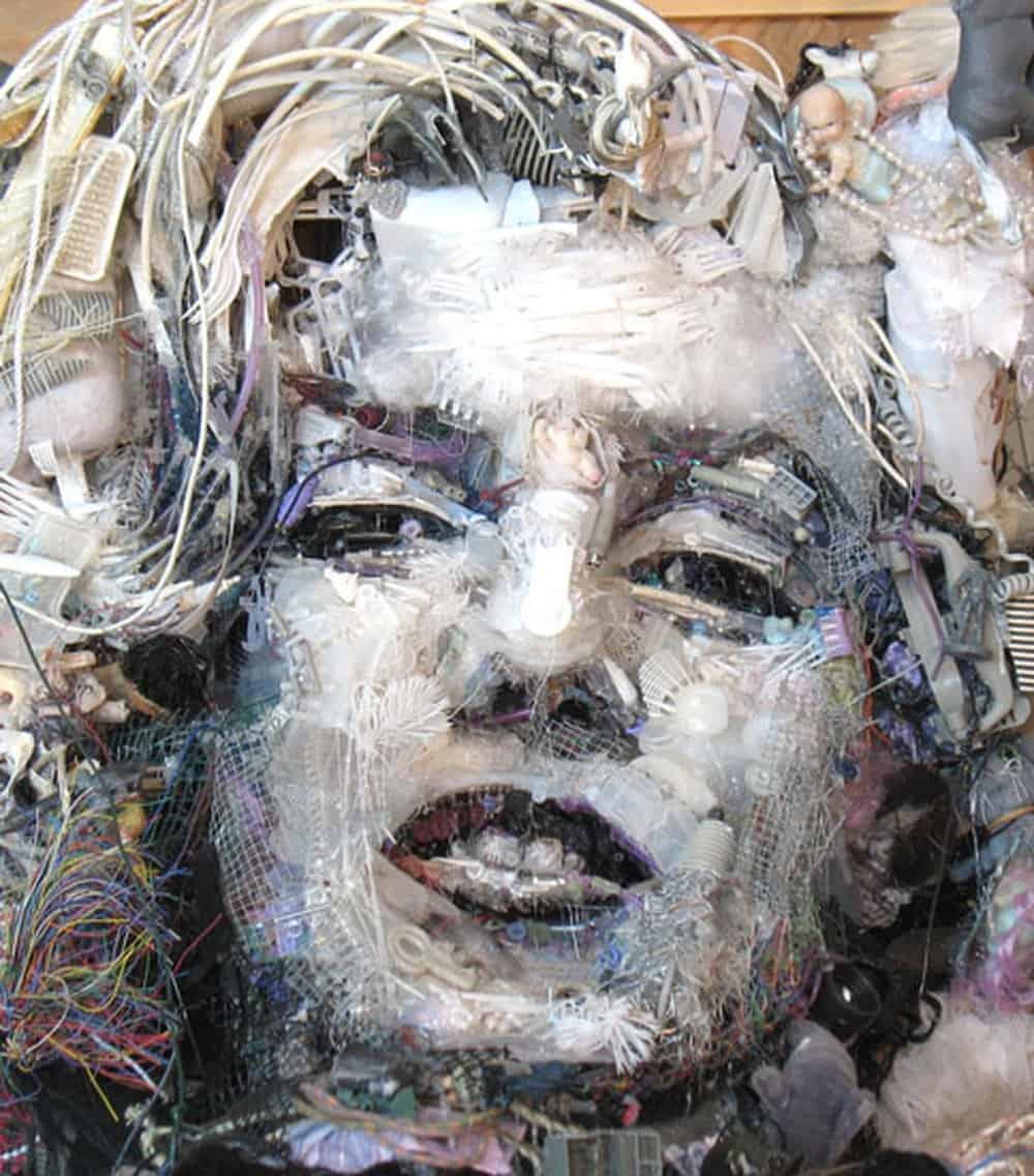 Tom Deininger Marilyn – junk art