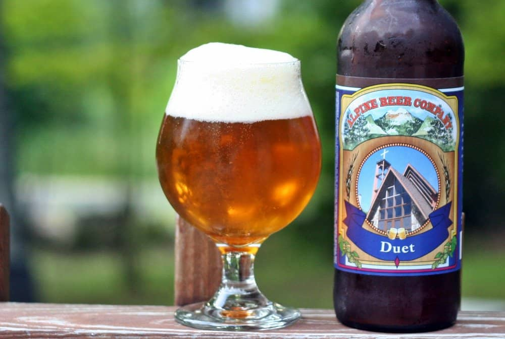 Alpine Beer Co. Duet – american ipa