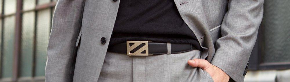 Belt – how to wear a suit