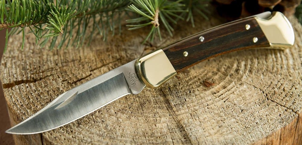 Buck - One of the best known pocket knife brands
