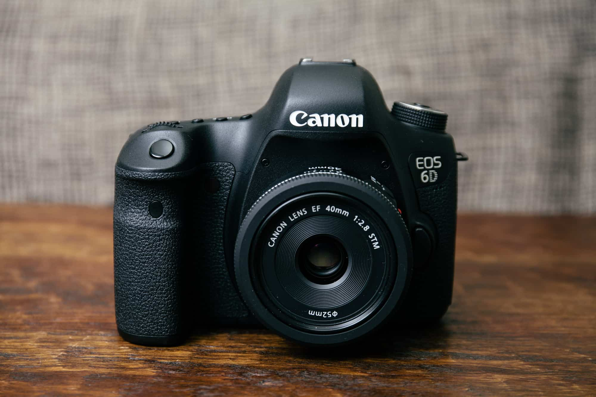 Canon 6D amateur camera
