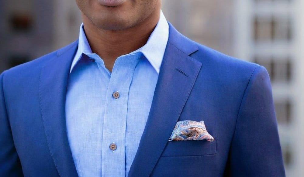 Collar – how to wear a suit
