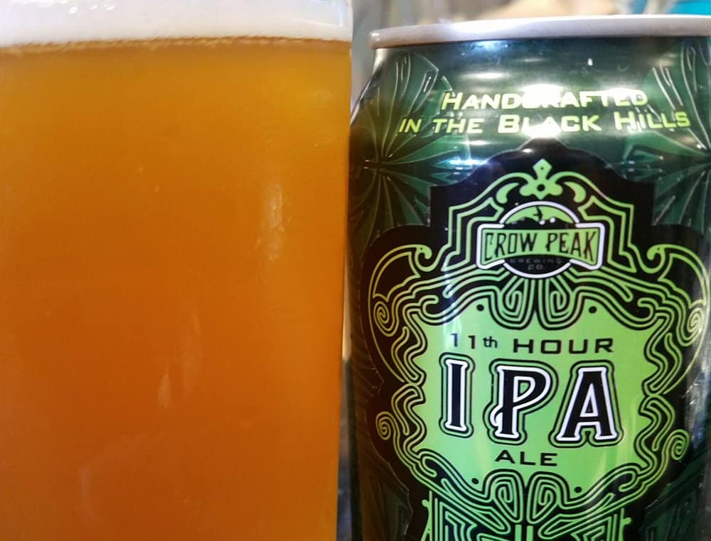 Crow Peak Brewing Co. 11th Hour – american ipa