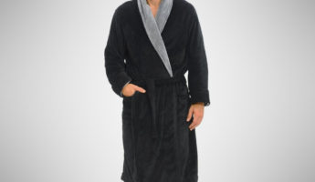 Del Rossa Fleece Robe 345x200 Get Comfy in the 16 Bossest Robes For Lazing About