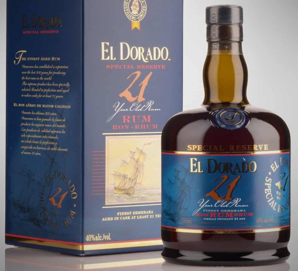 El Dorado 21 – rum