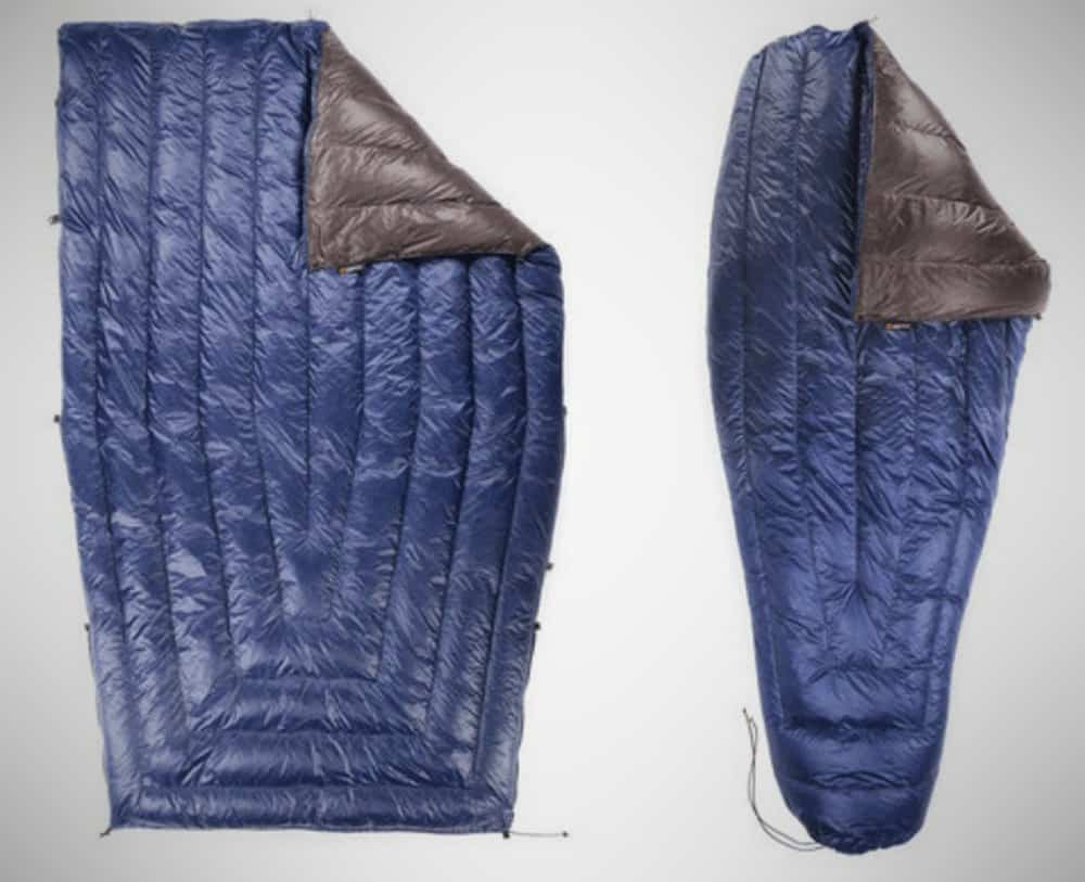 Enlightened Equipment Revelation 0 – cold weather sleeping bag
