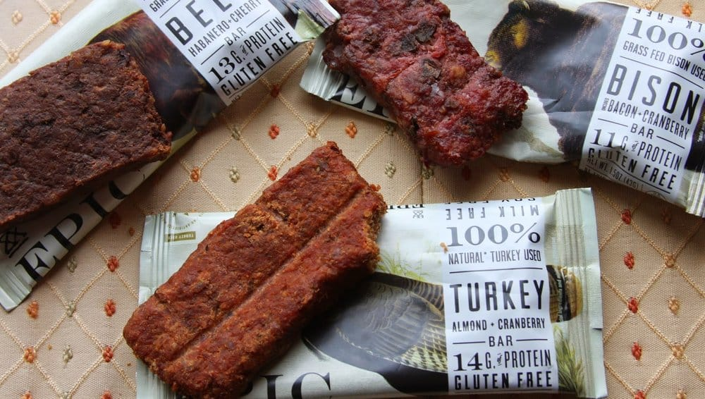 Epic All Natural Meat Protein Bars