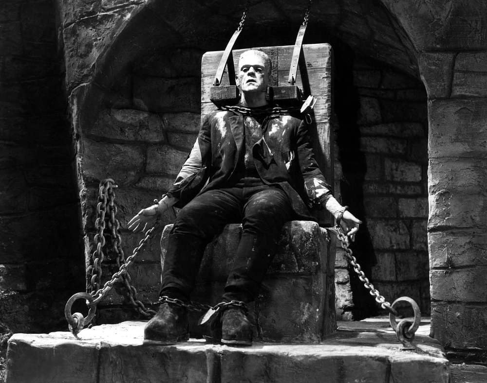 Frankenstein – sci fi horror film