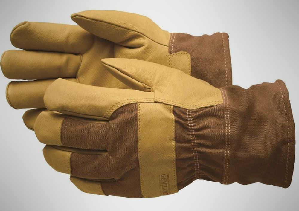 Gempler's Insulated Waterproof Pigskin Winter Work Gloves