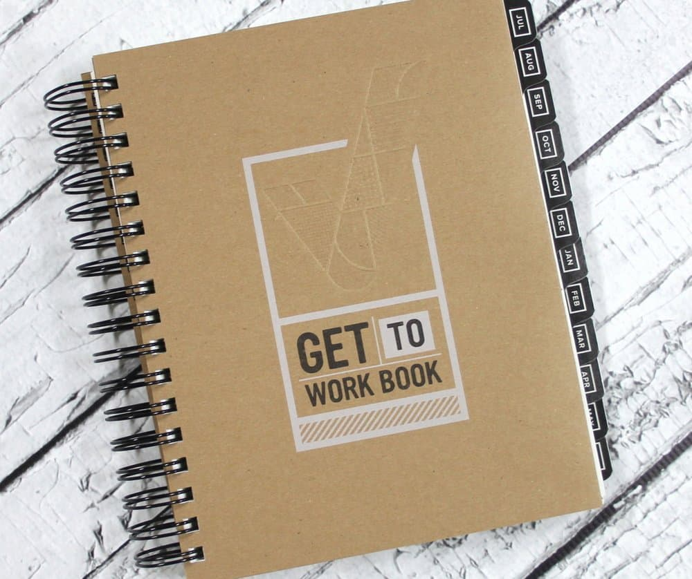 Get to Work Book – planner