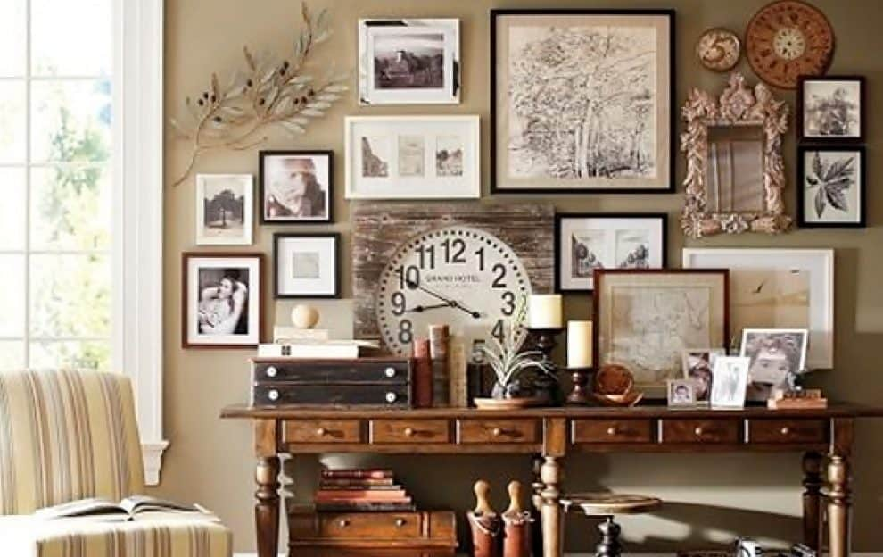 Wall Decor Photography How To Mix Framed Amp Unframed Art To Create A Cohesive Wall Collage  Ideas