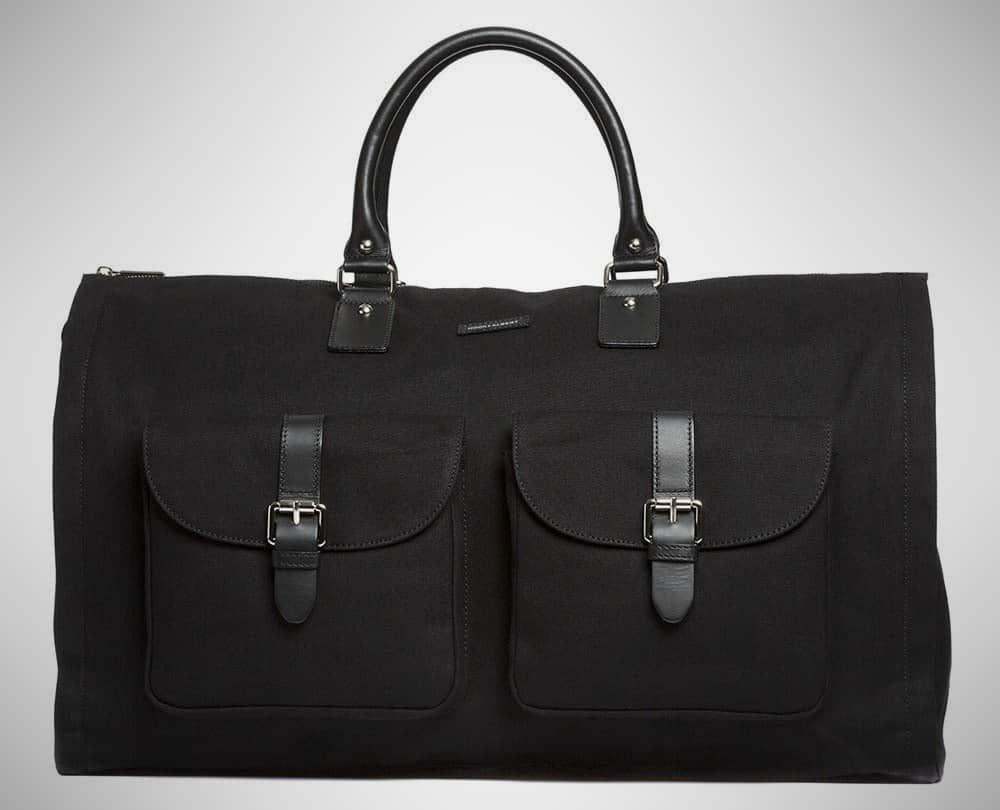 Hook & Albert Waxed Canvas – garment bag