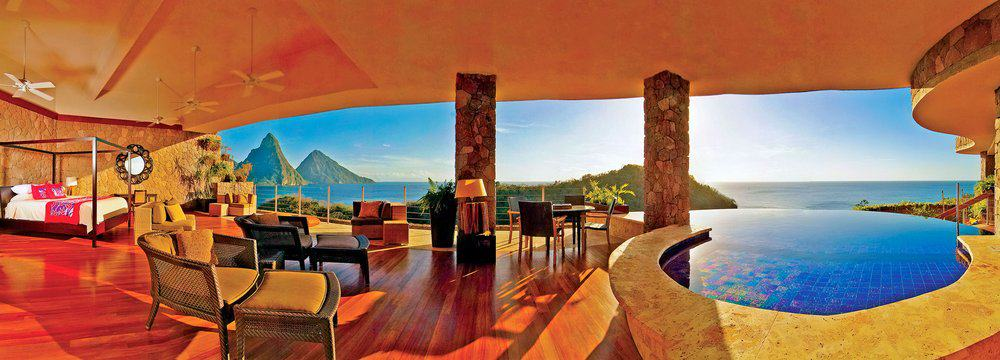 Jade Mountain – caribbean resort