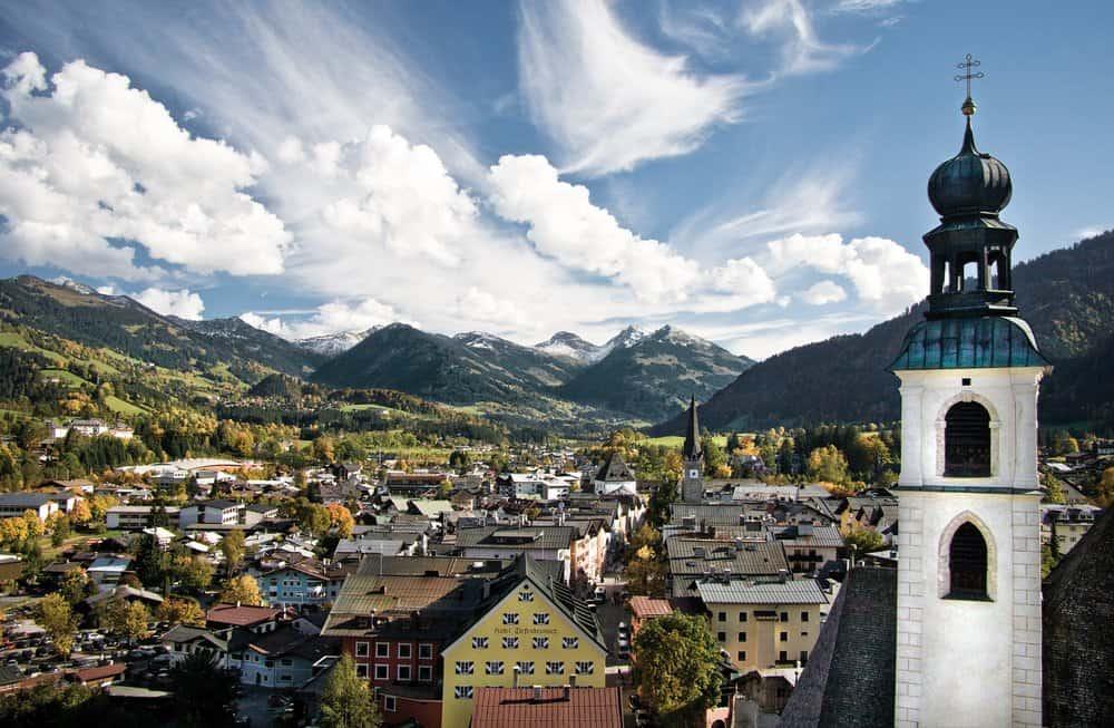 Kitzbühel – weird resort