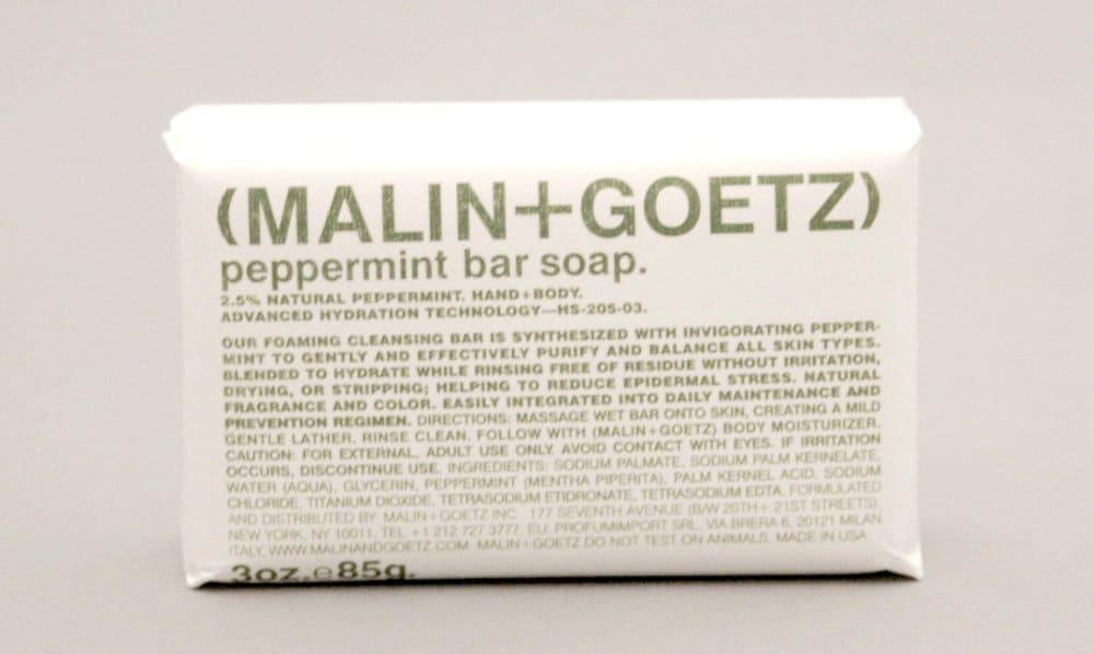 Malin + Goetz Peppermint Bar – soap for men