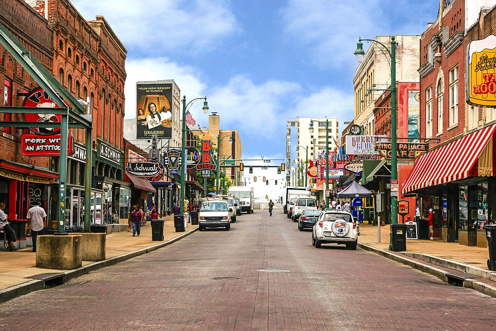 Memphis – View of Beale Street