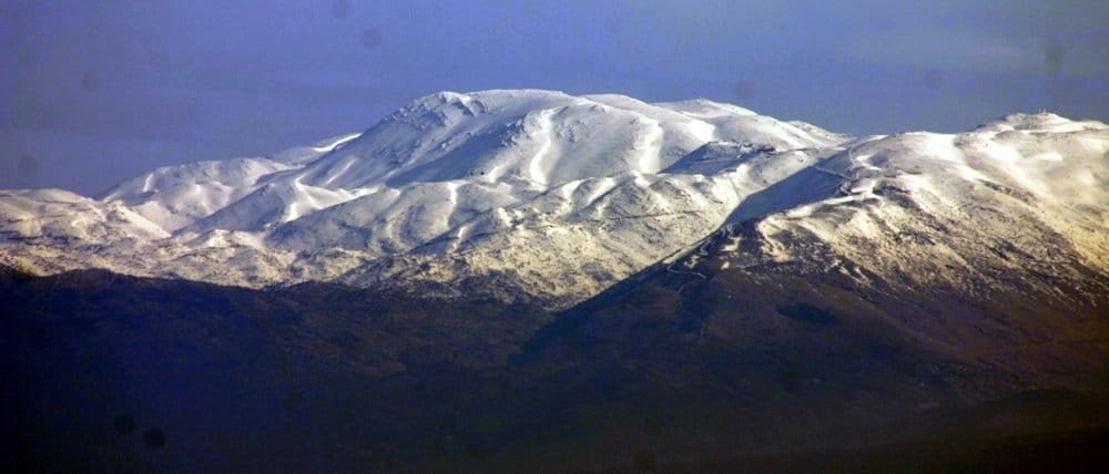 Mount Hermon – weird resort