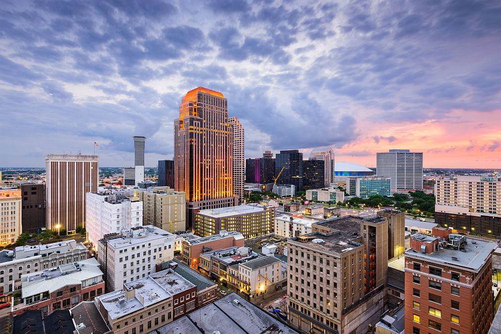 New Orleans Skyline Live Well, Live Hip in the Coolest Cities in the US
