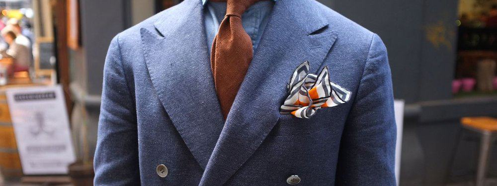 Pocket Square – how to wear a suit