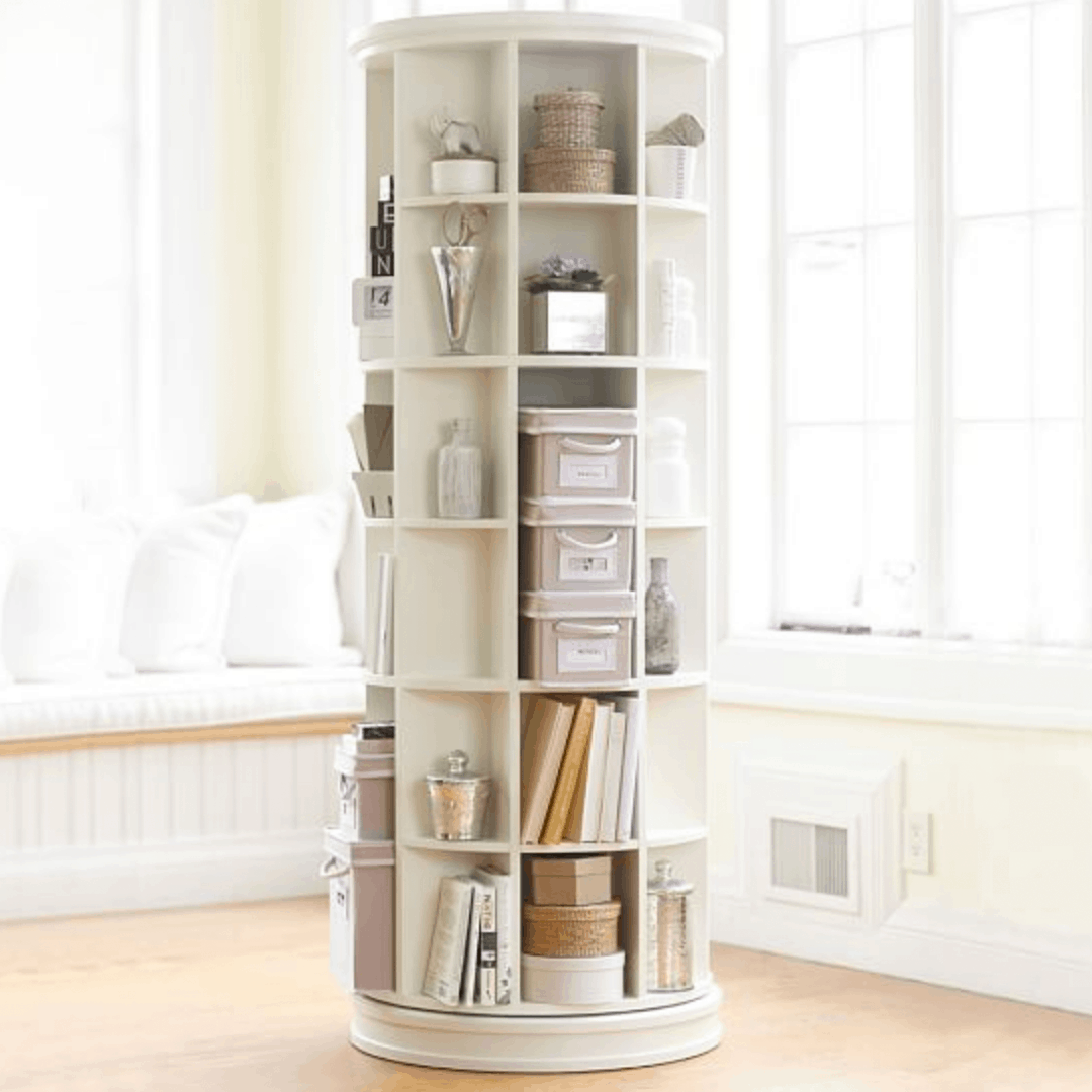 Pottery Barn Teen Revolving Bookcase
