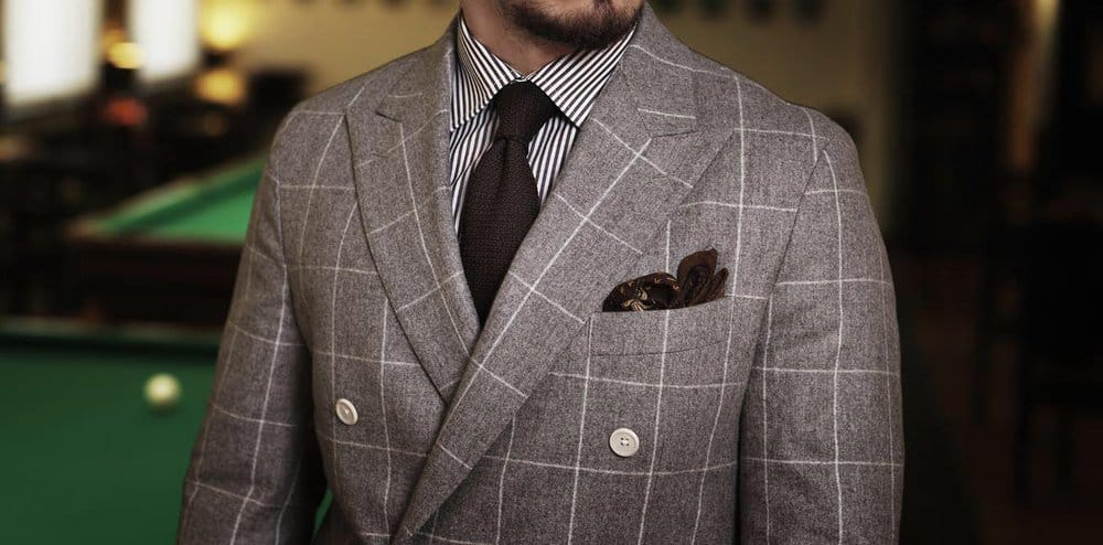 Prints – how to wear a suit