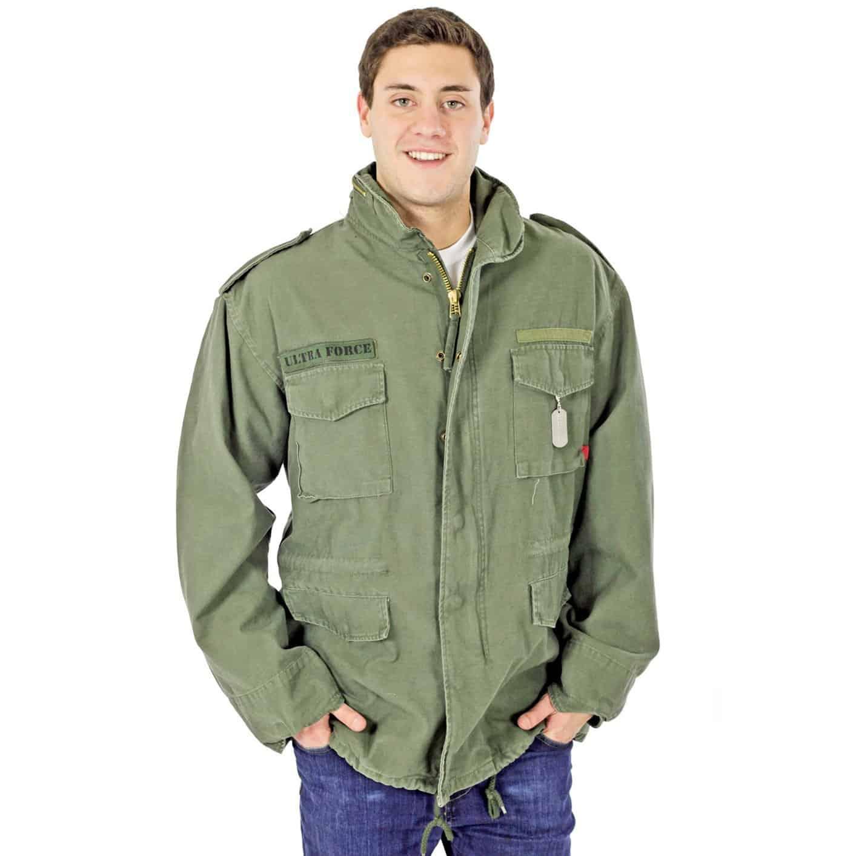 Rothco Vintage Military Men's Field Jacket