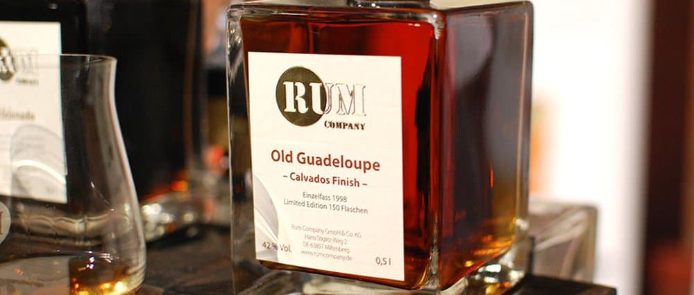 Rum Company Old Guadeloupe Calvados Finish Rum