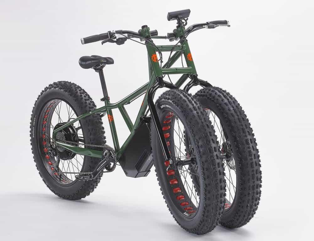 Rungu Electric Juggernaut – fat bike