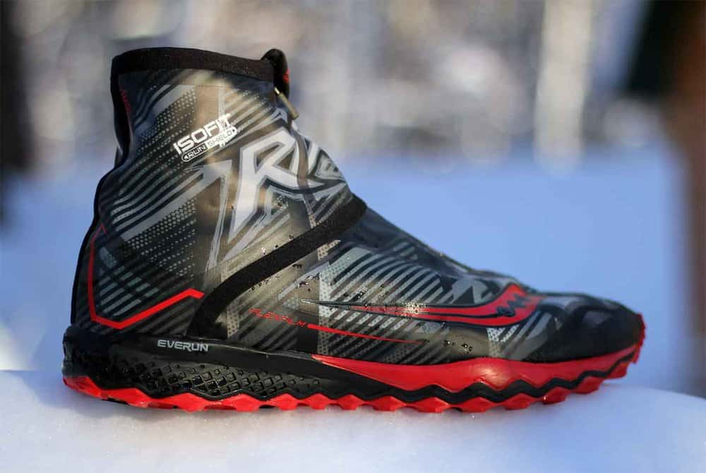 Saucony RAZOR ICE+ – winter running shoe