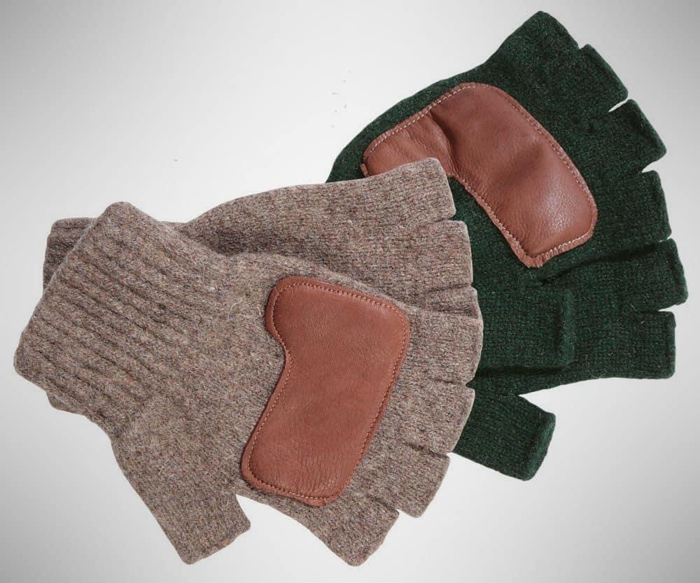 Schaefer Ragg Wool Fingerless Ranchhands – winter work gloves