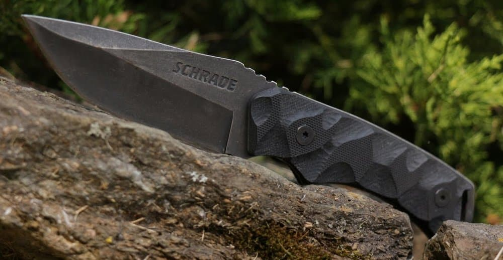 A knife from Schrade - One of the best pocket knife brands