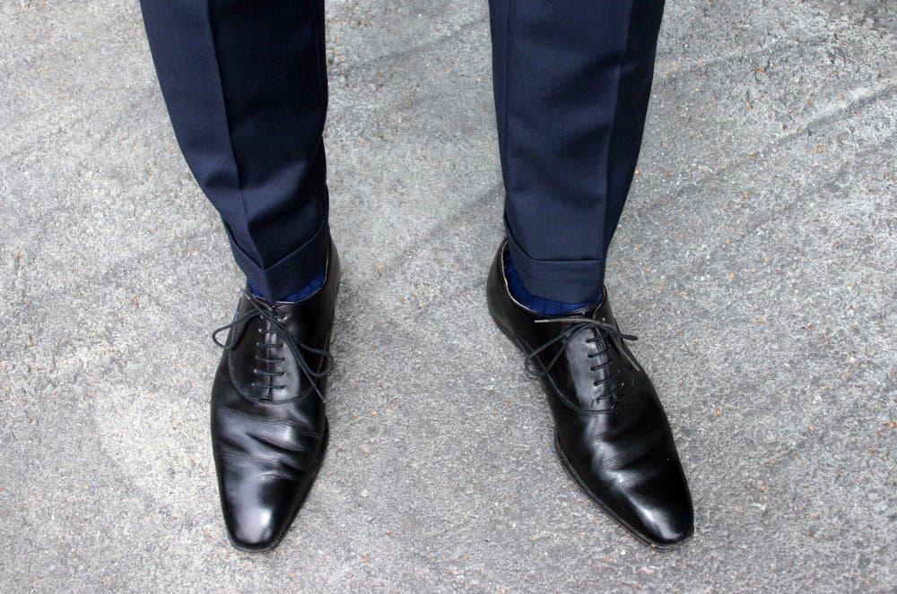 Shoe Color – how to wear a suit