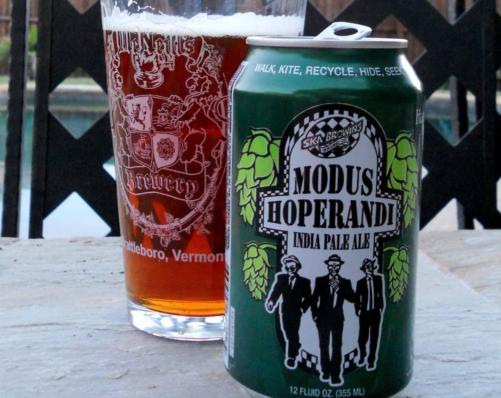 Ska Brewing Co. Modus Hoperandi – american ipa