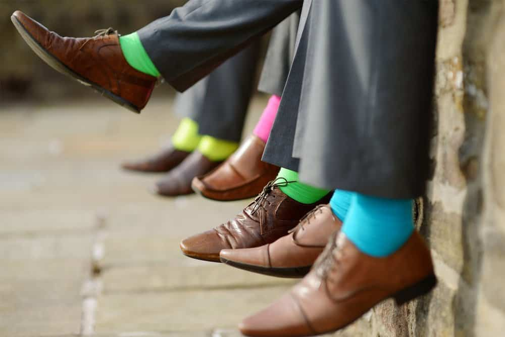 Socks – how to wear a suit