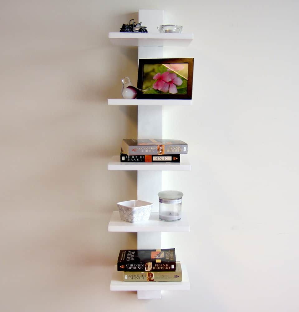 Spine Wall Bookshelf