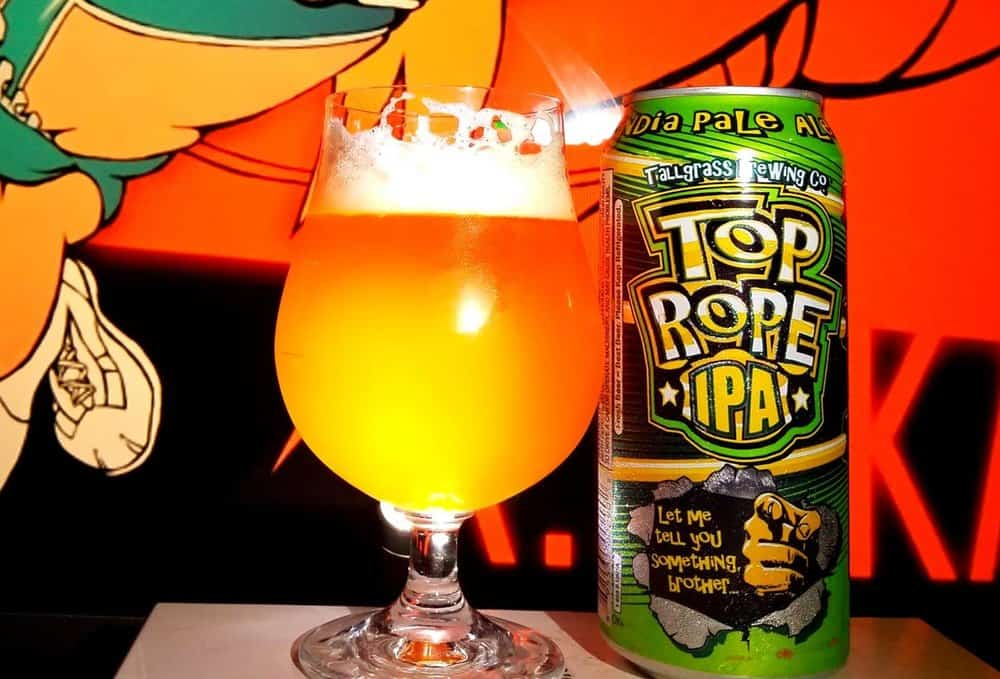 Tallgrass Brewing Company Top Rope – american ipa