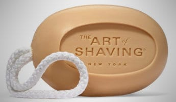 The Art of Shaving Soap for Men on a Rope 345x200 18 Best Soaps for Dirty Dudes, Filthy Fellas, and Grubby Gents