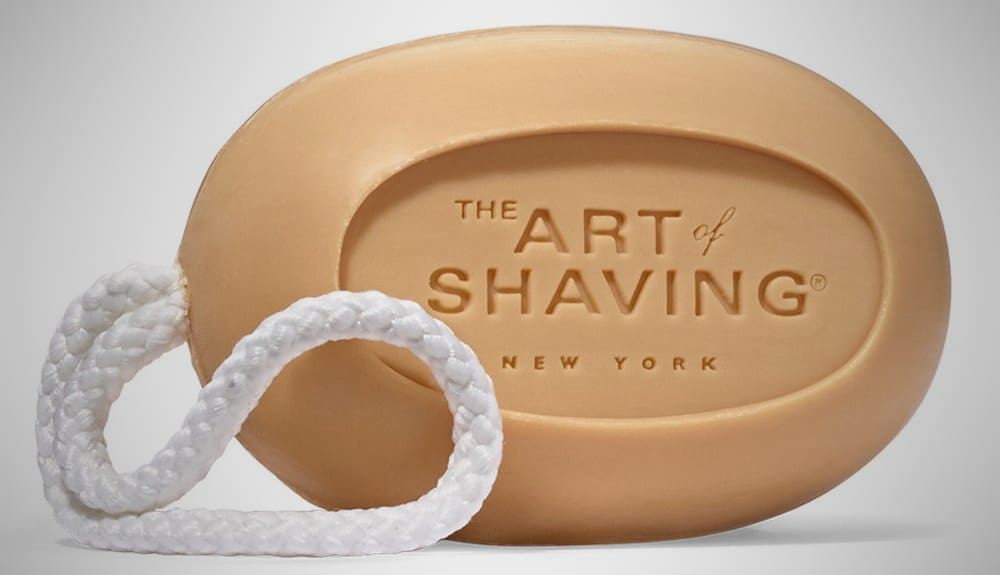 The Art of Shaving Soap for Men on a Rope