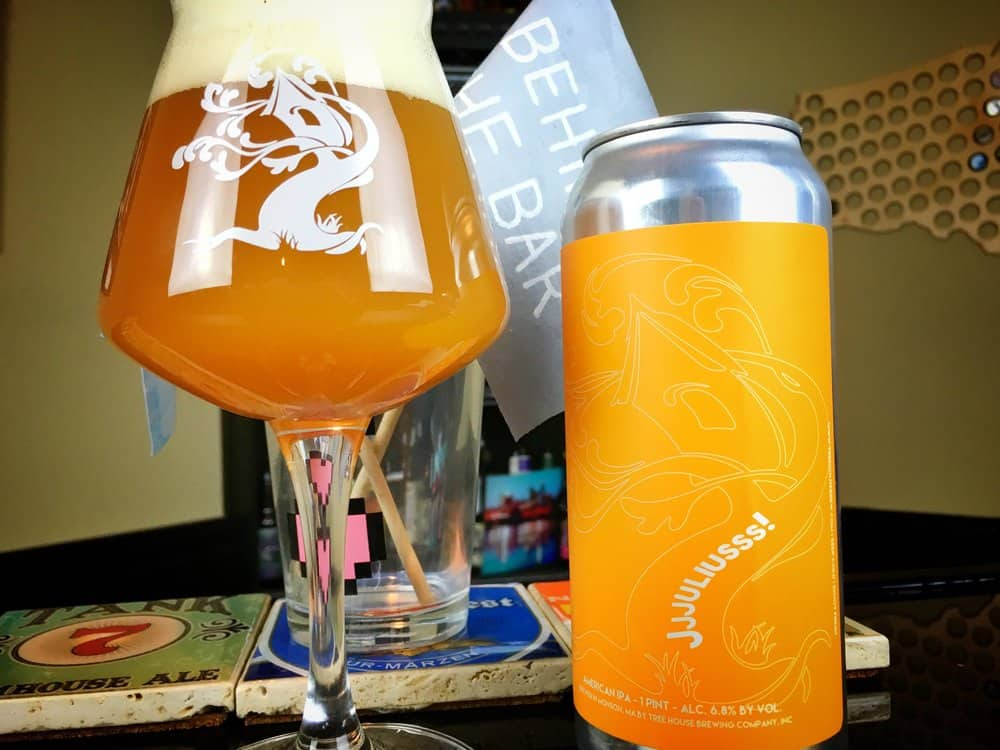 Tree House Brewing Co. Jjjuliusss – american ipa