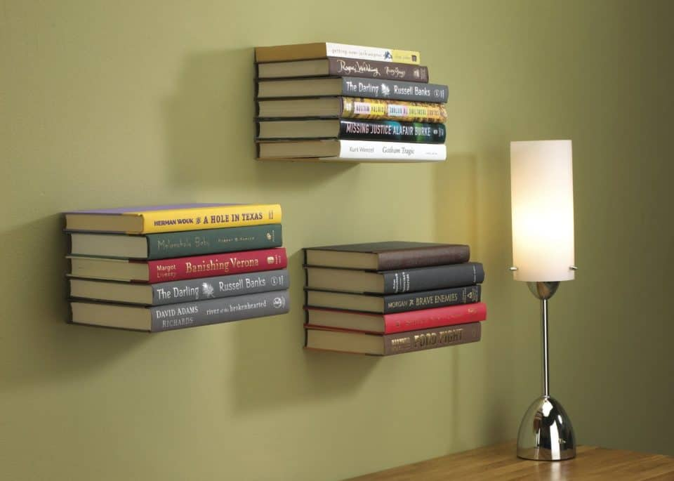Umbra Conceal Floating Bookshelves e1484594739528 960x685 Literary Elitists Love These 9 Bookshelves