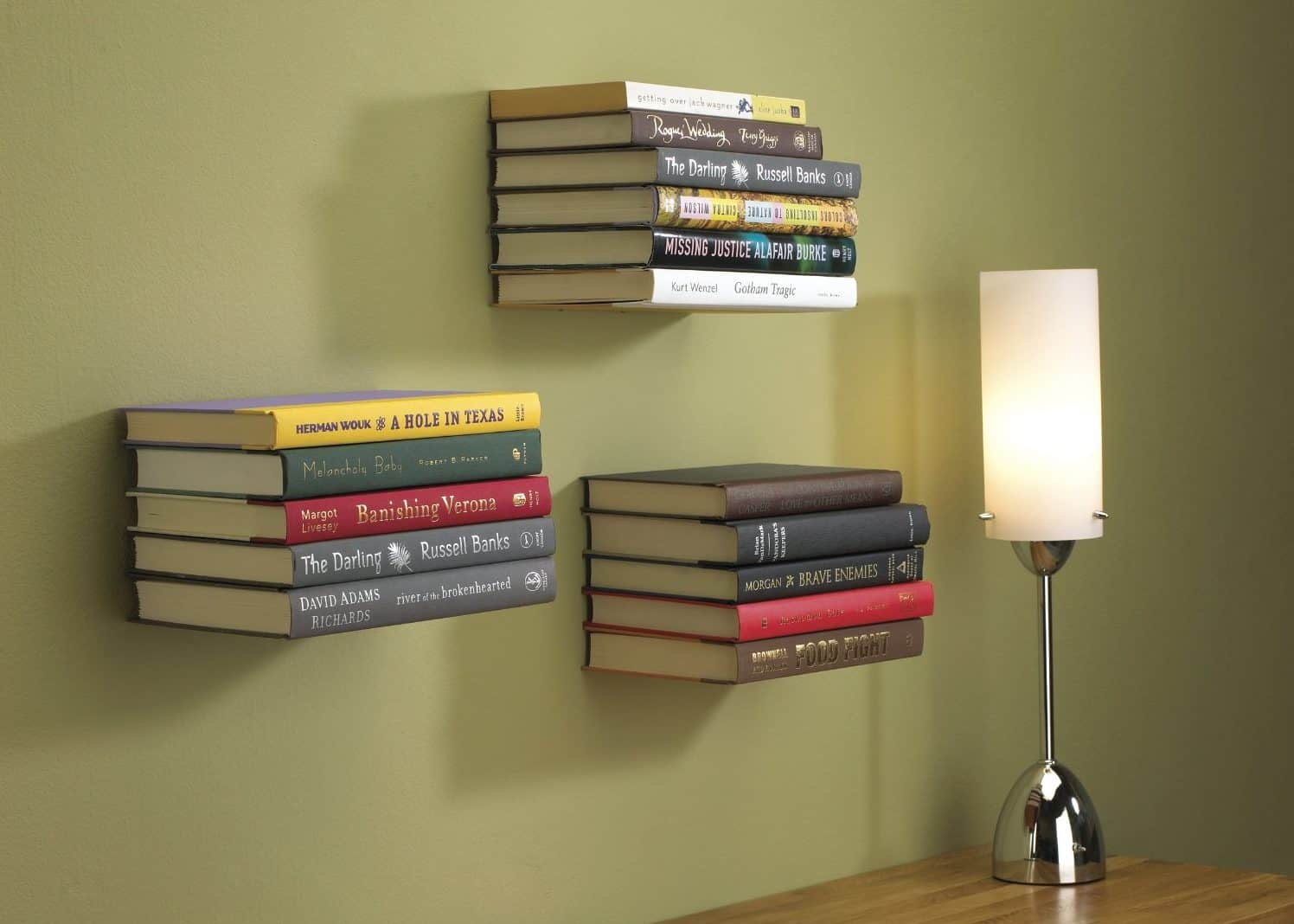 View In Gallery Umbra Conceal Floating Bookshelves E1484594739528 960x685 Literary Elitists Love