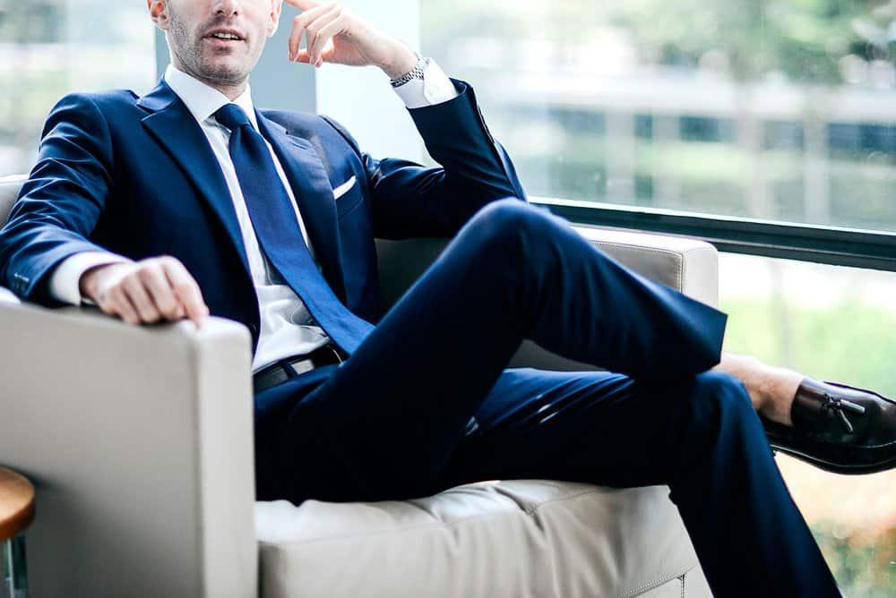 Unbutton – how to wear a suit