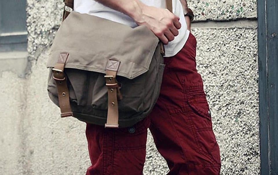 Vagabond Traveler Washed Canvas Messenger Bag e1484025300201 960x604 11 Amazing Messenger Bags for the Mobile Toter