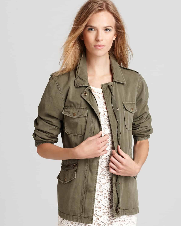 Velvet Army Field Jacket